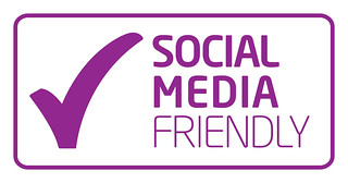 Social Media Friendly Mark | by Wrexham Council | Cyngor Wrecsam