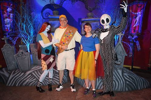 Jack and Sally and Scott and Tracey | by Disney, Indiana