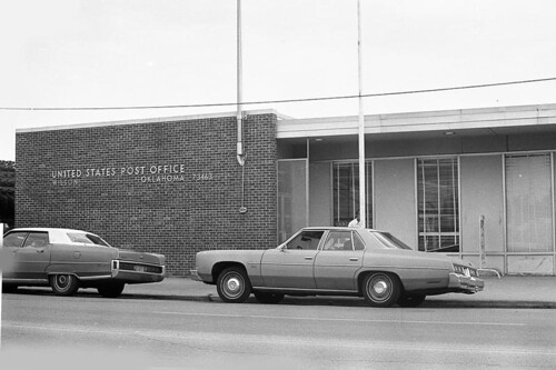 Wilson, OK post office | by PMCC Post Office Photos
