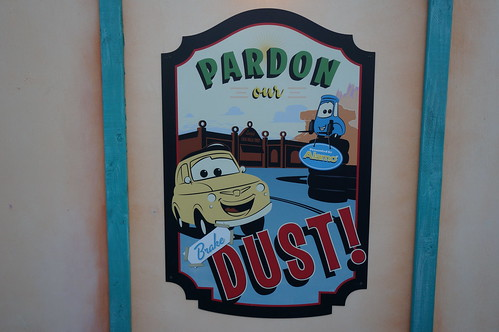 Pardon our Brake Dust! | by Disney, Indiana