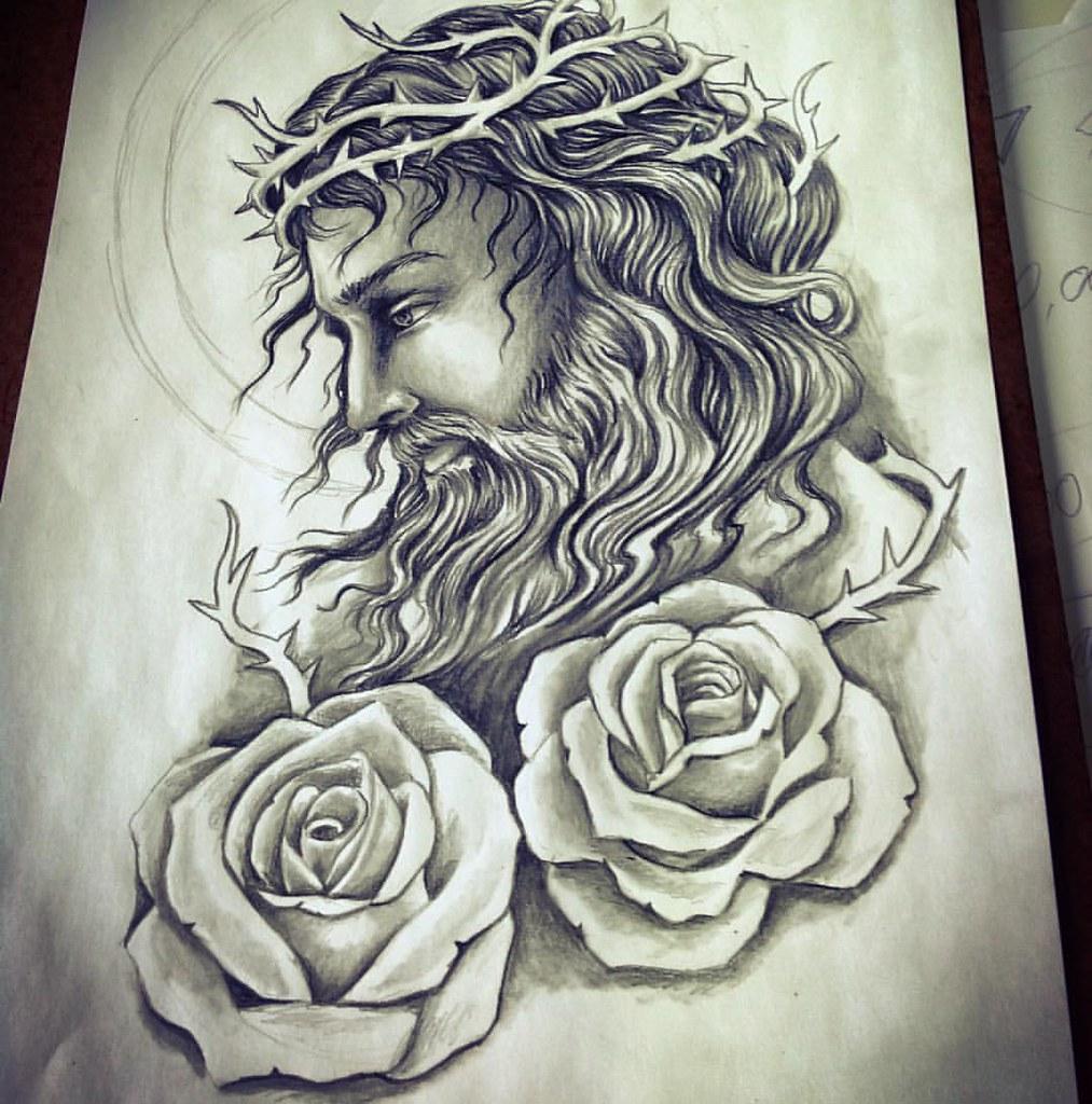 Jesus Tattoo Designs Tumblr