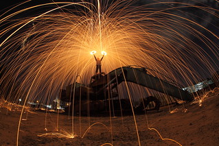 Dual Spin Steelwool | by kulimpapat