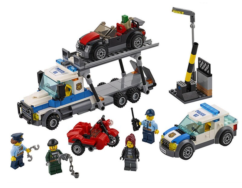 LEGO City 2017 - Auto Transport Heist (60143)