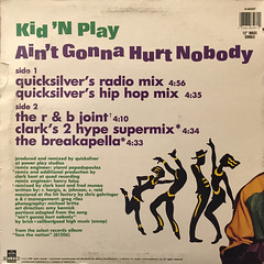 KID 'N PLAY:AIN'T GONNA HURT NOBODY(JACKET B)