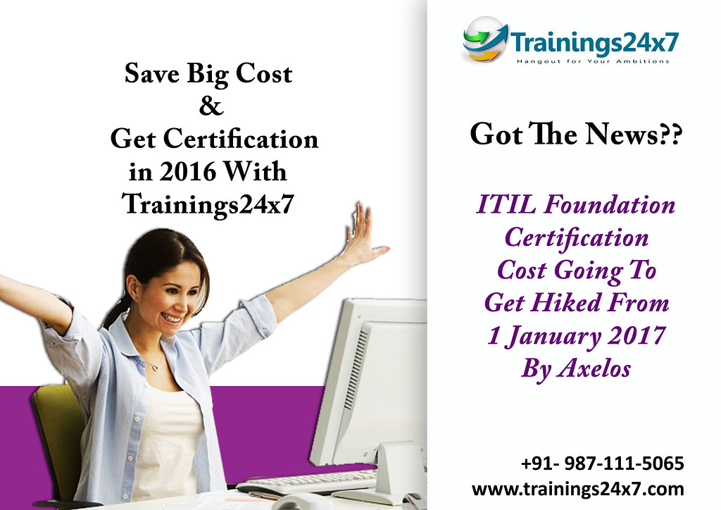Itil Training Certification Trainings24x7 Itil Stands F Flickr