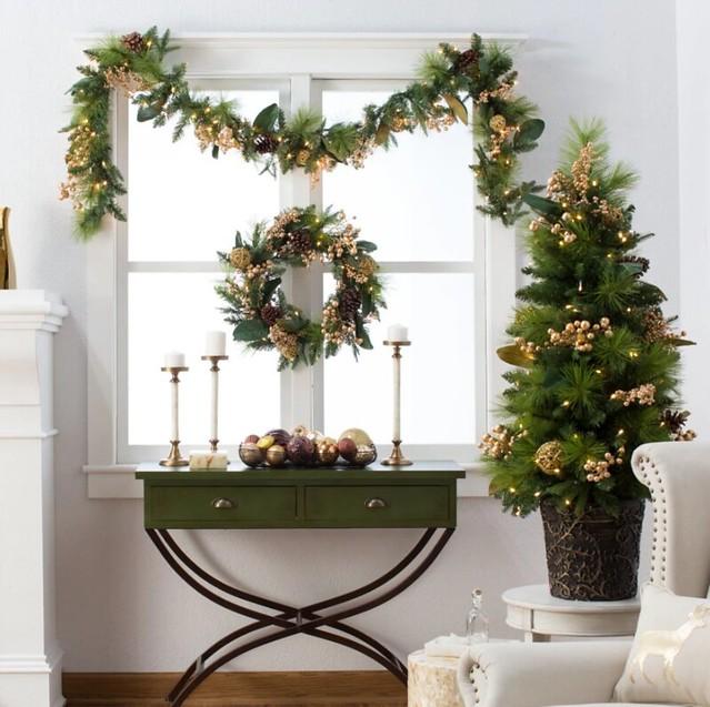 Christmas Tree on a Table
