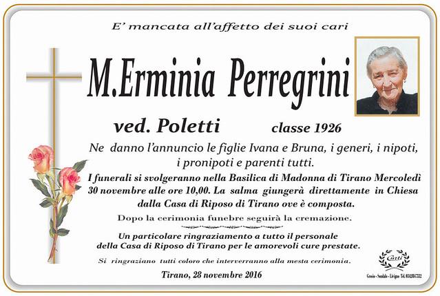 M. Erminia Perregrini