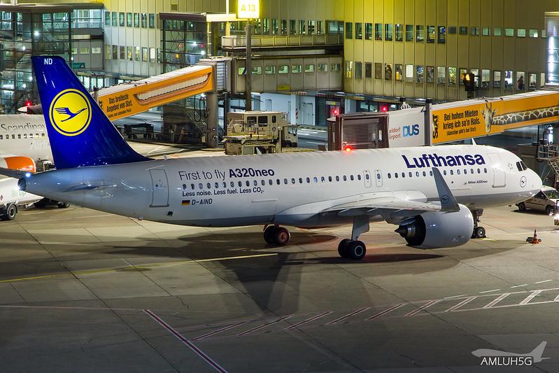 Lufthansa - A320 - D-AIND (1)