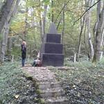 Первая братская евр. могила (с.Маневцы). 02-10-2013