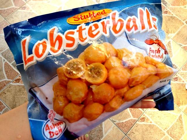lobster balls