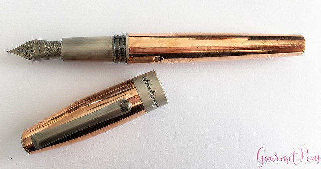 Review Montegrappa Fortuna Copper Mule Fountain Pen @PenChalet @Montegrappa 1912 17