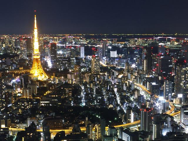 東京タワー、首都高