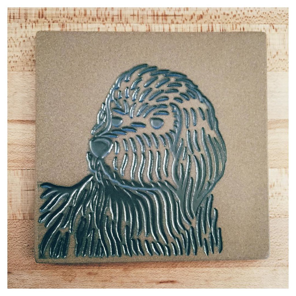 Love the new @heathceramics mural tiles featuring Oliver
