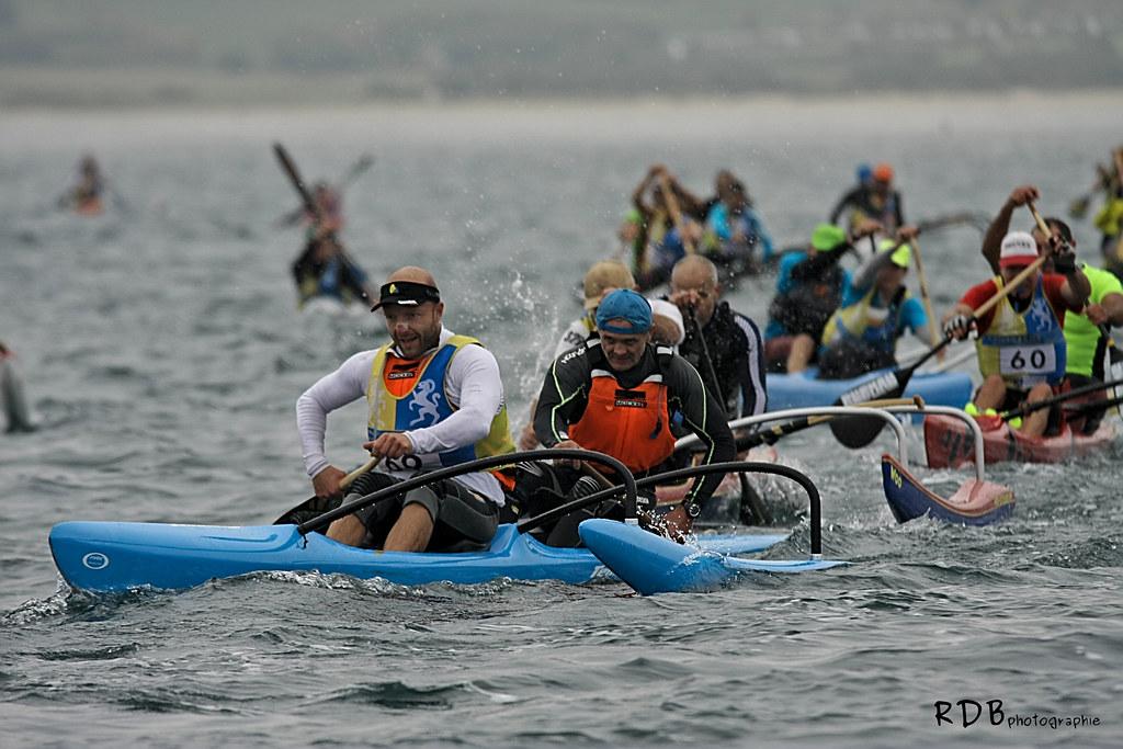 ocean racing championnat france 2016 Crozon Morgat va'a kayak merathon