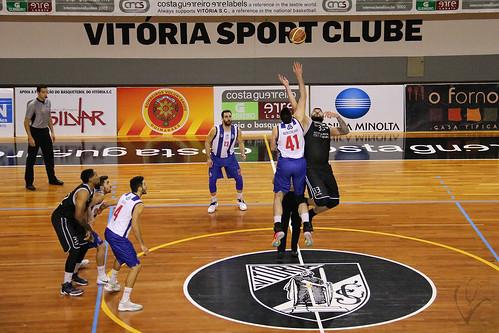 Basquetebol: Vitória SC 74-71 FC Porto