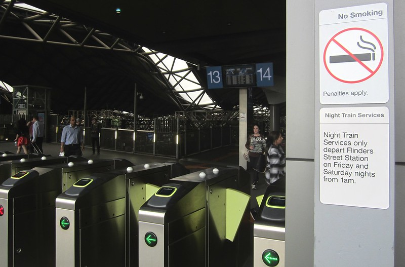Southern Cross Station - no Night Trains here