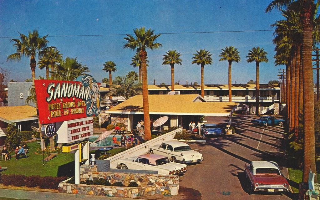 Sandman Motor Hotel - Phoenix, Arizona