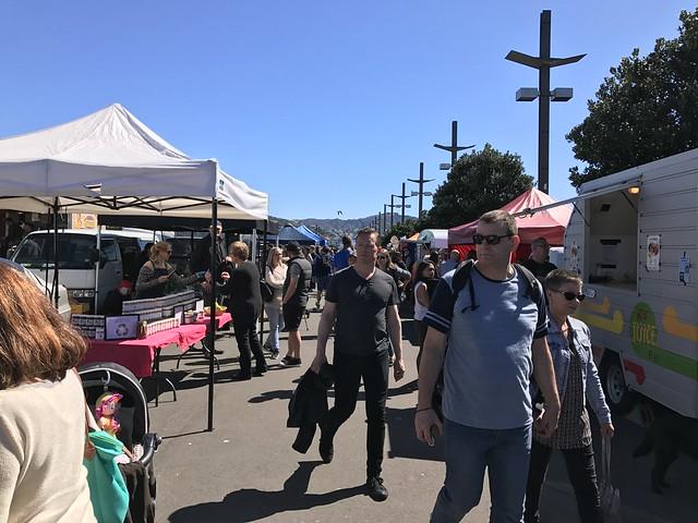 Harbourside Market in Wellington