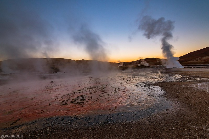 Dawn - El Tatio Geysir