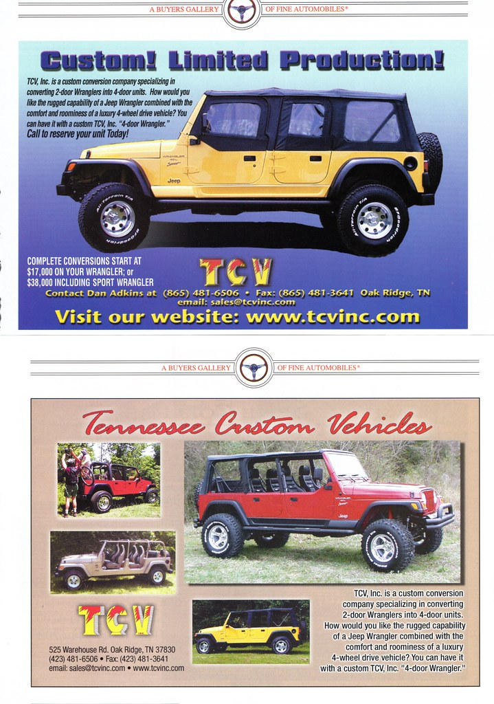 ... 2000 Jeep Wrangler 4-Door Conversion by TCV | by aldenjewell  sc 1 st  Flickr & 2000 Jeep Wrangler 4-Door Conversion by TCV | Alden Jewell | Flickr
