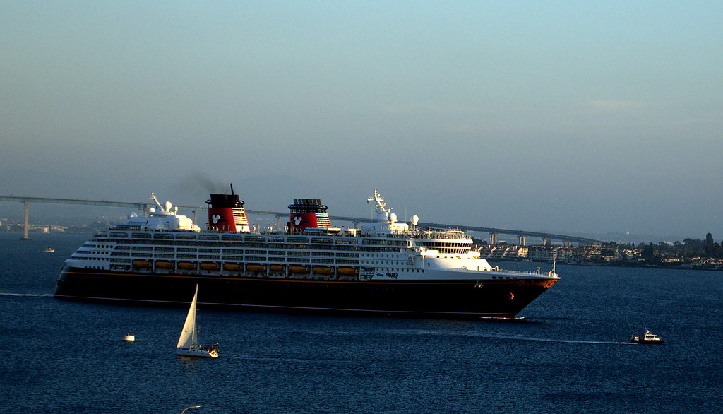 Disney Wonder Cruise Ship Departing San Diego For Puerto V Flickr - Cruise ships from san diego