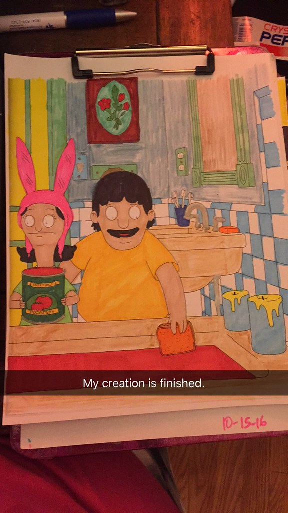 Bob S Burgers Coloring Book Look In The Tunk Flickr