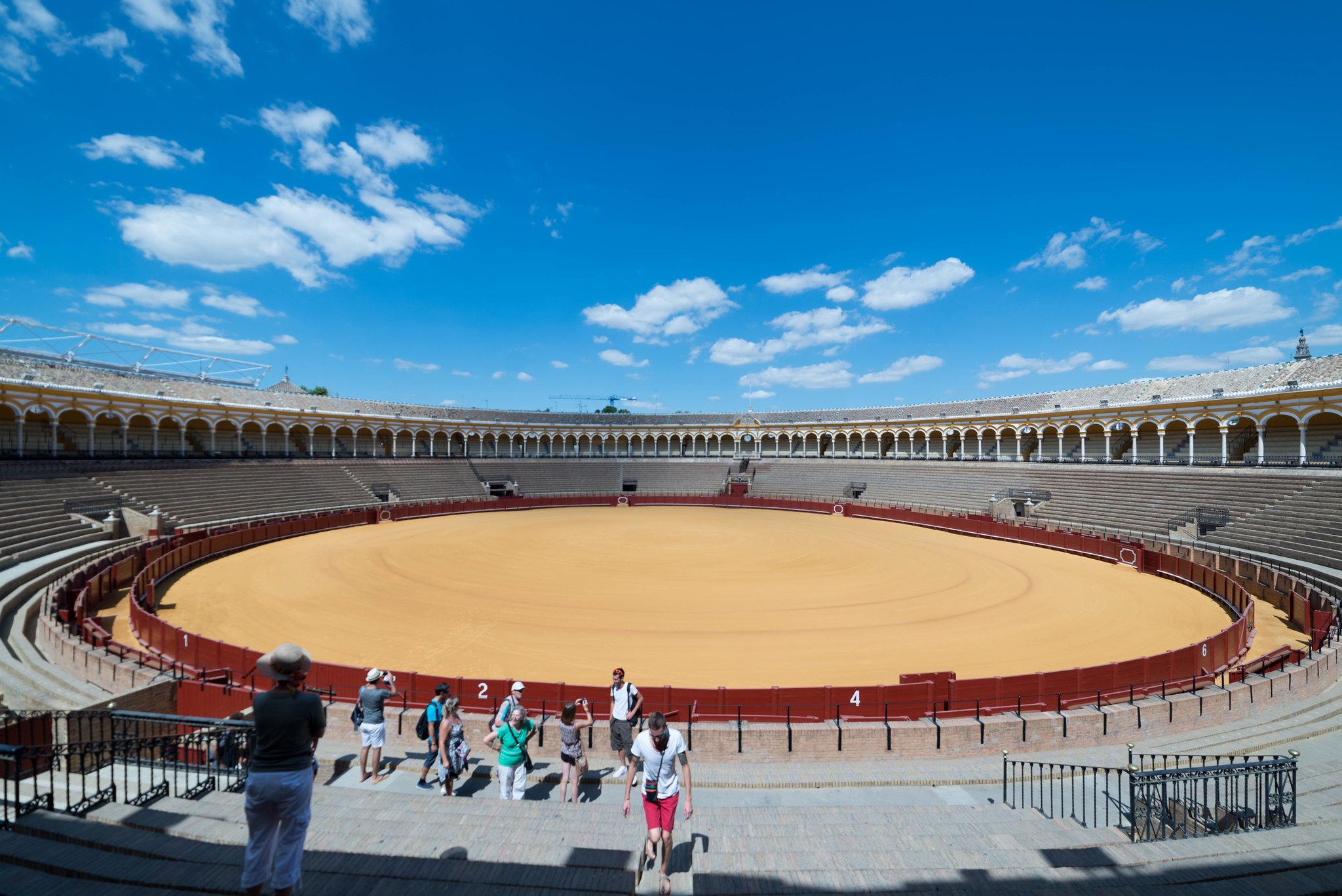 Seville spain bullring