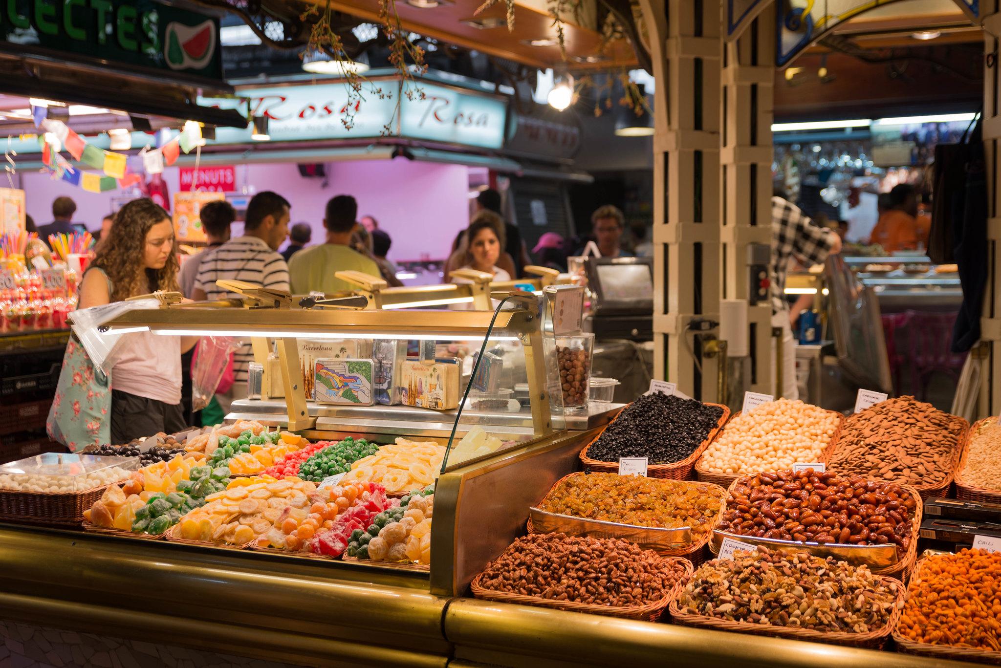 Boqueria Barcelona market