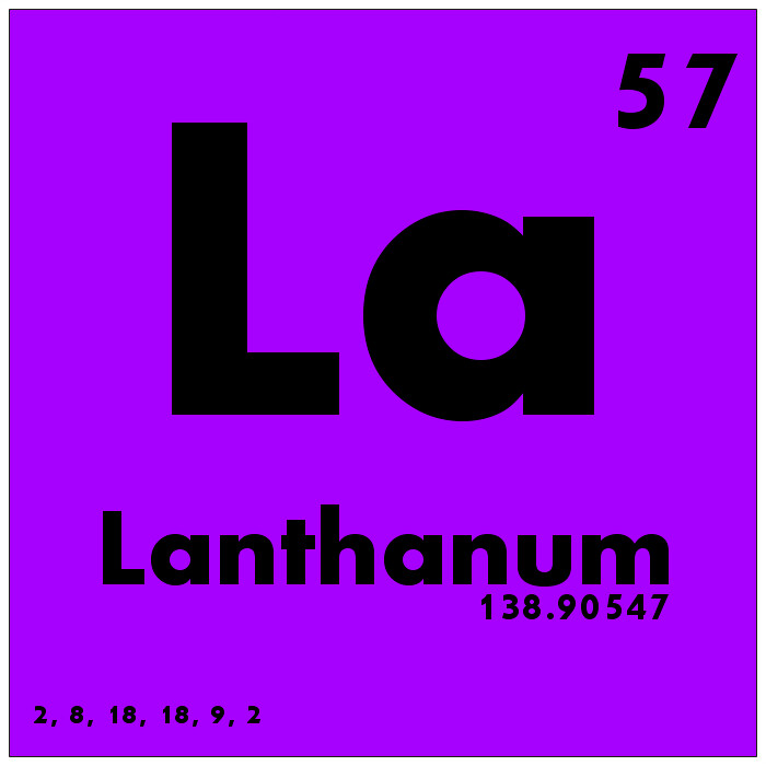 057 lanthanum periodic table of elements by science activism - Lanthanum Periodic Table Atomic Mass