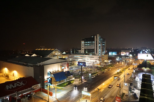 View from Arkadia Shopping