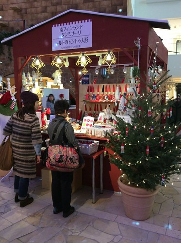 Nordic Christmas market at Hankyu Department store in Osaka 2015 | by syko Kajsa