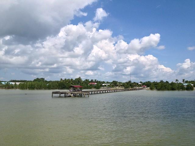 Ferry ride sungai rajang sarawak