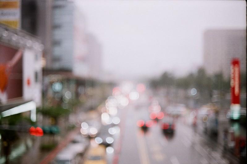突如一場大雨