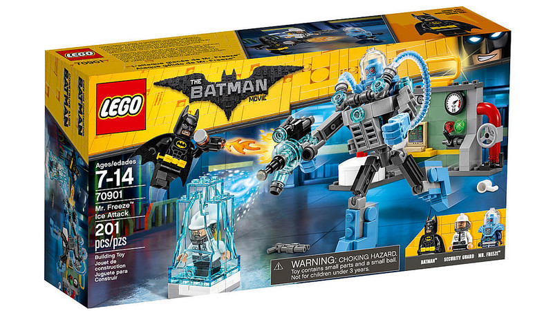 LEGO Batman Movie - Mr. Freeze Ice Attack (70901)