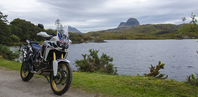 Africa Twin,  Suilven and Canisp