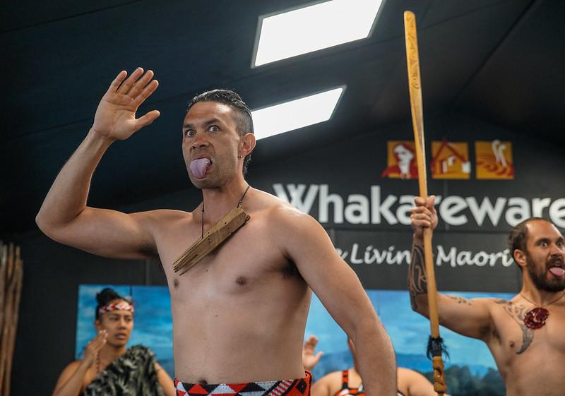Maori village show