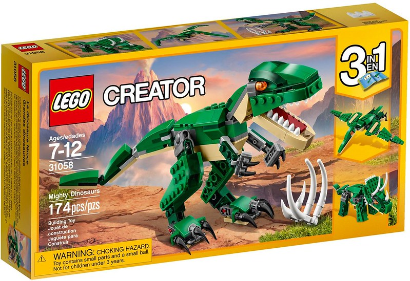 LEGO Creator 2017 - Mighty Dinosaurs (31058)