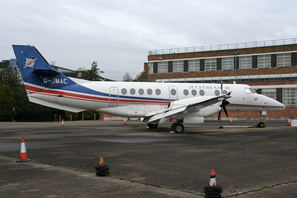 Eastern Airways Civil Penger Jetstream 41 Aircraft On Crew Transfer Operations For The Raf Sco 9701