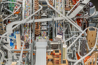 Chris Burden, Metropolis II LACMA Los Angeles 04 | by Eva Blue