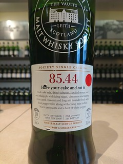 SMWS 85.44 - Have your cake and eat it
