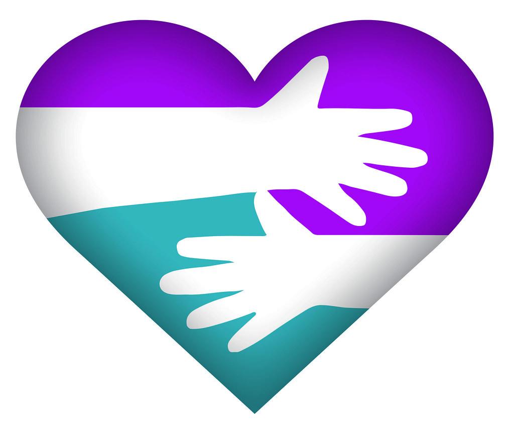 1 vodafone heart emoji purple blue by vodafonegroup