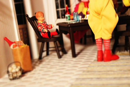 Ronald McDonald Comes to Dinner | by Brynn Thorssen