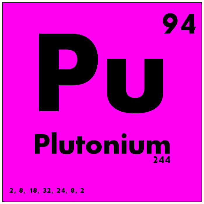 094 Plutonium Periodic Table Of Elements Watch Study Gui Flickr