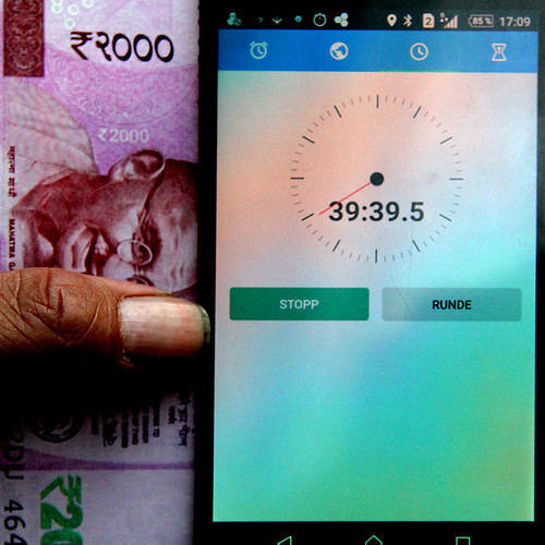 Demonitesation in India - or life becomes moredifficult every day