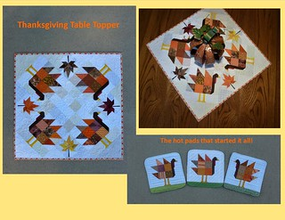 Thanksgiving decorations | by quilts by lisa