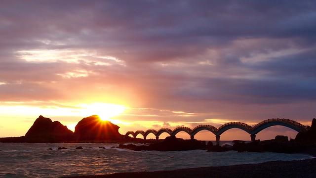 Taiwan's Taitung County Sanxiantai(sunrise)