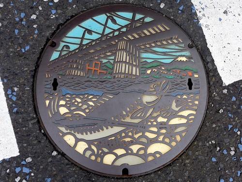 Tama Tokyo, manhole cover (東京都多摩市のマンホール)