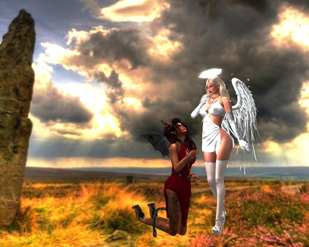 Image Ange Et Demon ange et demon | astrya zepp | flickr