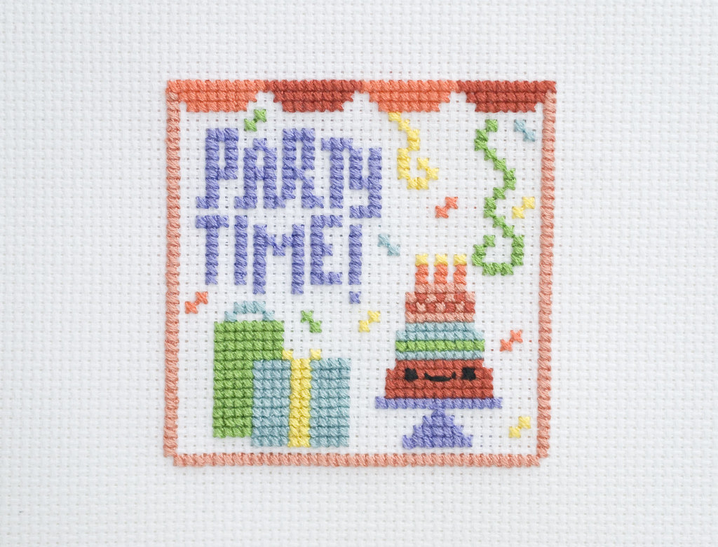 Party Time Cross Stitch