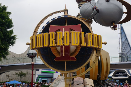 Tomorrowland Sign | by Disney, Indiana